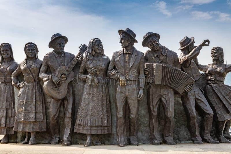 Bronze Statues In Ponte De Lima Editorial Image - Image of city ...