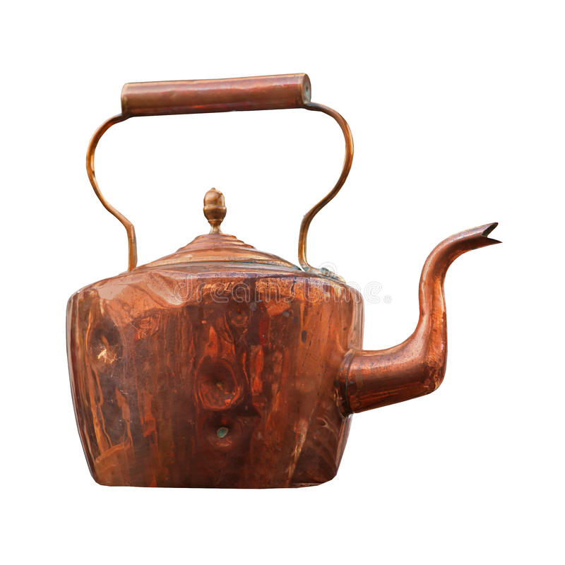 Download Bronze teapot stock image. Image of cutout, vintage, traditional - 28925259