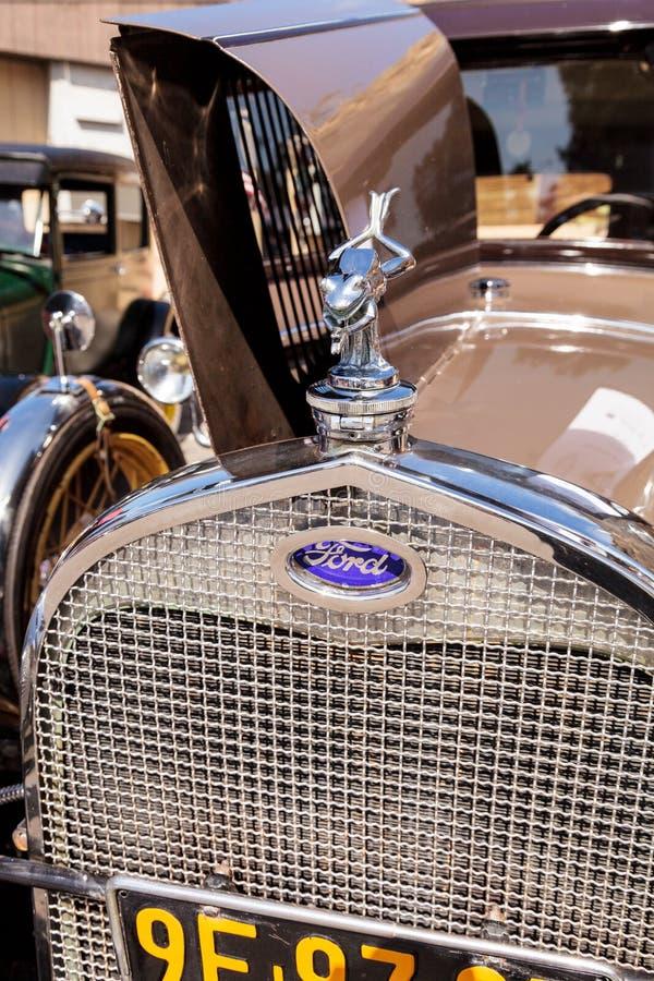 Bronzear-se Ford Deluxe Town Sedan 1929 foto de stock