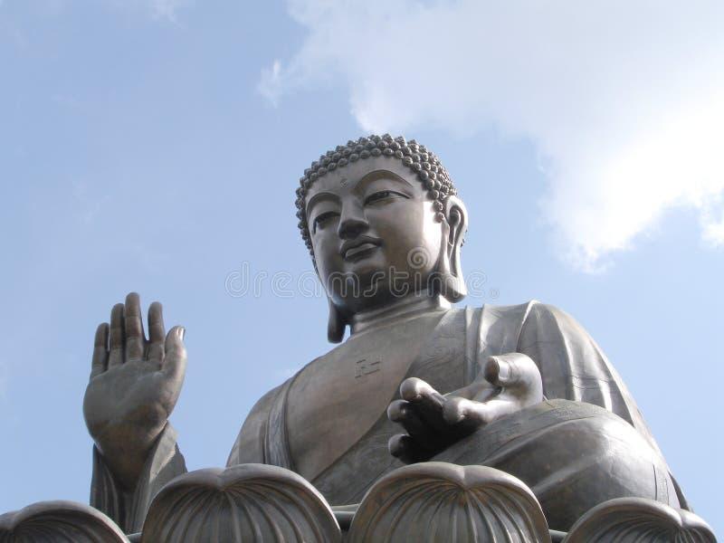 Bronzebuddha lizenzfreie stockfotos