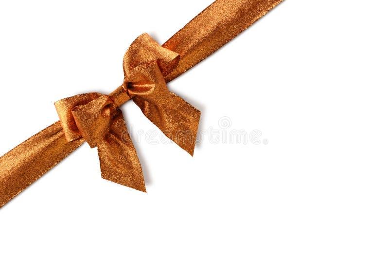Download Bronzed bow stock photo. Image of birthday, path, bronzed - 7408428