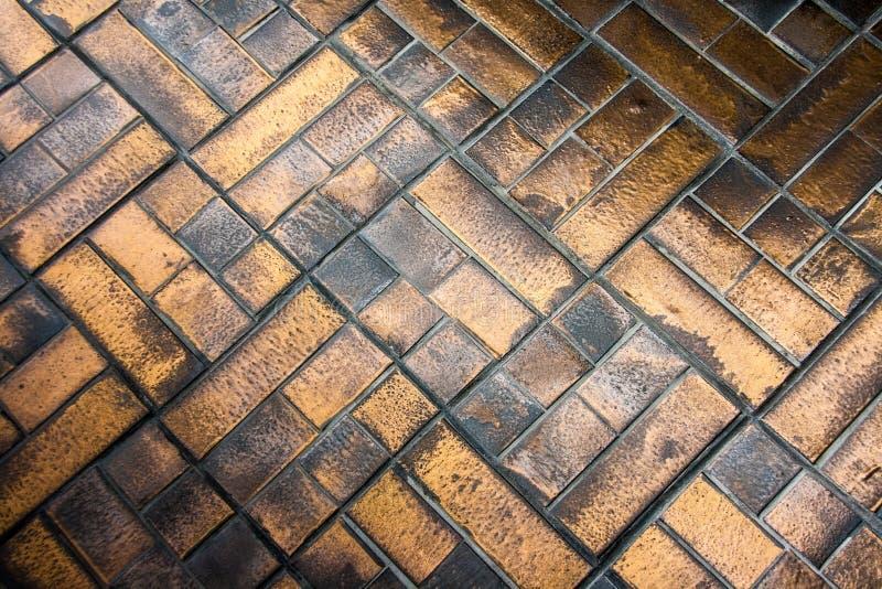 Bronzemusterbeschaffenheitshintergrund lizenzfreie stockbilder
