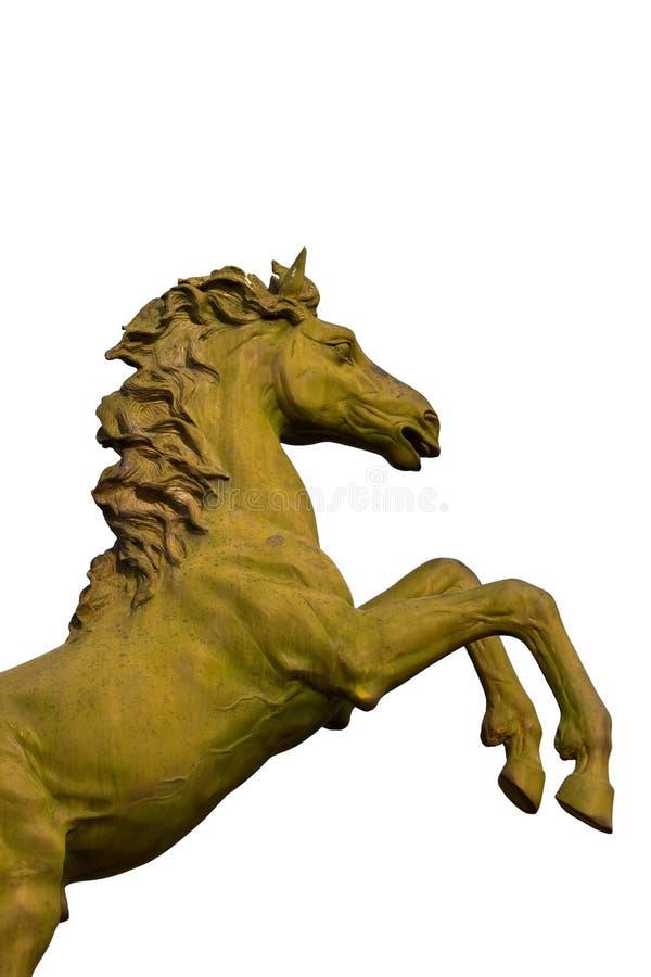 Bronzestatue des Pferds stockbilder