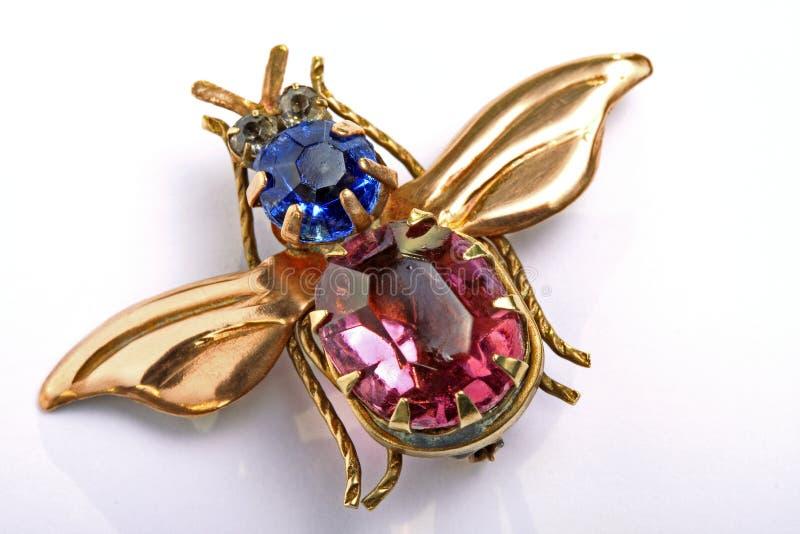 Brooch Antic, jóia imagem de stock royalty free