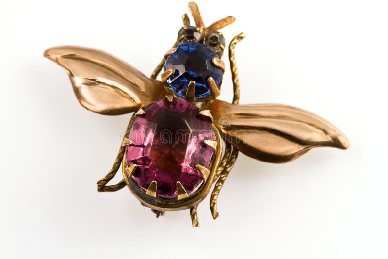 Brooch, jóia antic fotos de stock royalty free