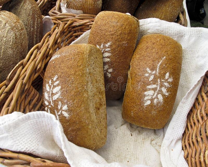 Brood bij de Markt van Landbouwers royalty-vrije stock foto's