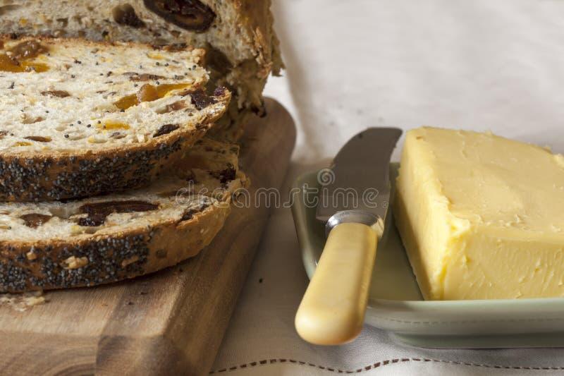 Brood en Boter stock fotografie