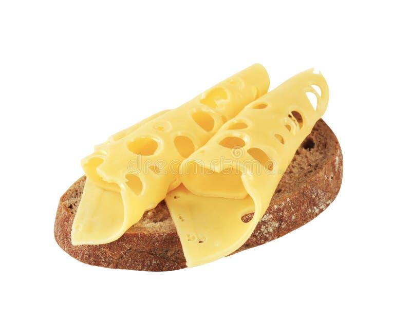 Brood en Emmentaler royalty-vrije stock afbeeldingen