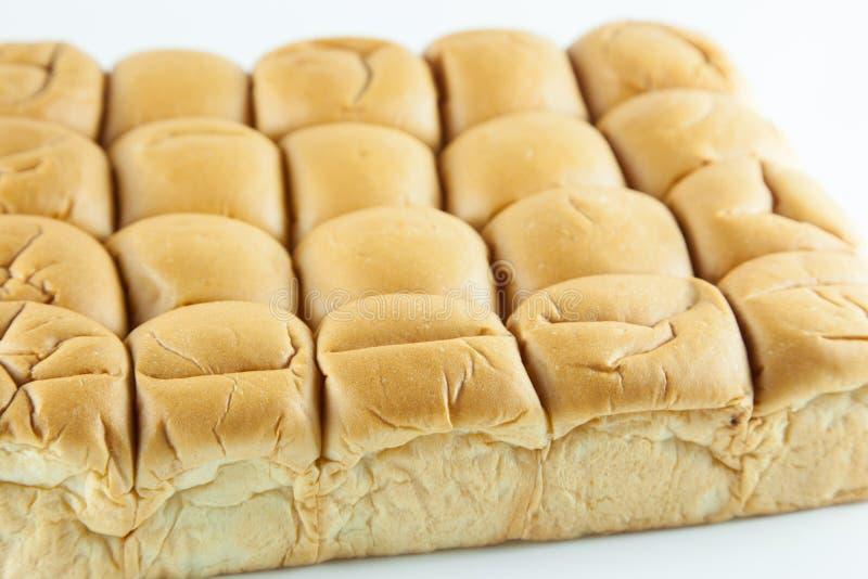 Brood op een witte achtergrond royalty-vrije stock fotografie