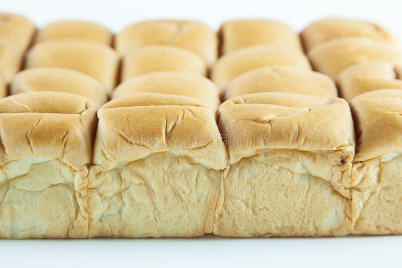 Brood op een witte achtergrond royalty-vrije stock afbeelding