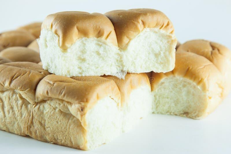 Brood op een witte achtergrond stock fotografie