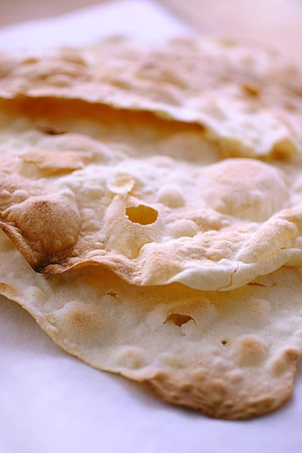 Brood op plaat royalty-vrije stock foto's