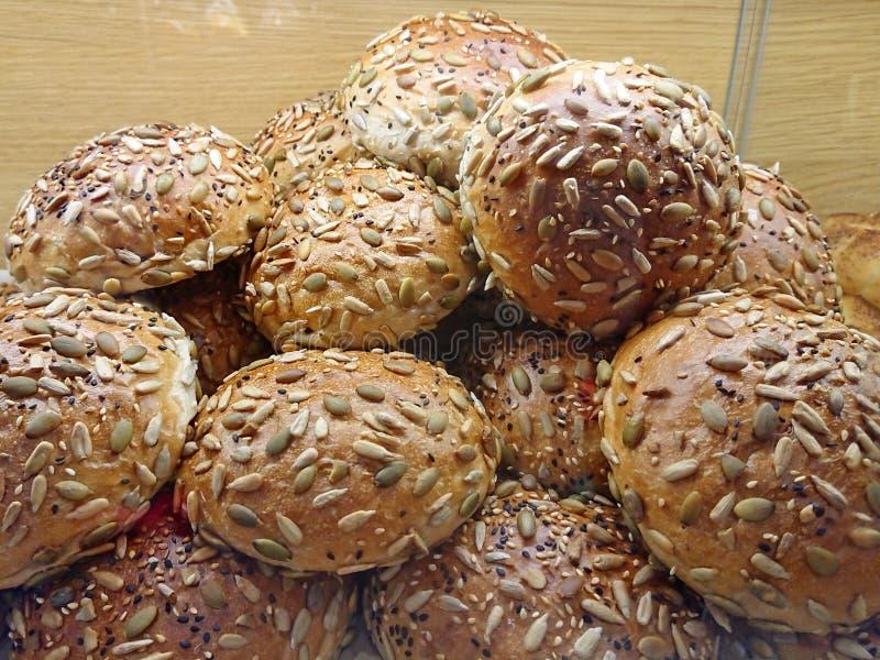 Brood op verkoop bij de markt royalty-vrije stock foto