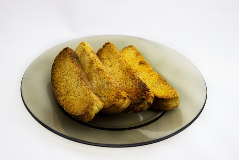 Brood rond het hoofd stock afbeelding