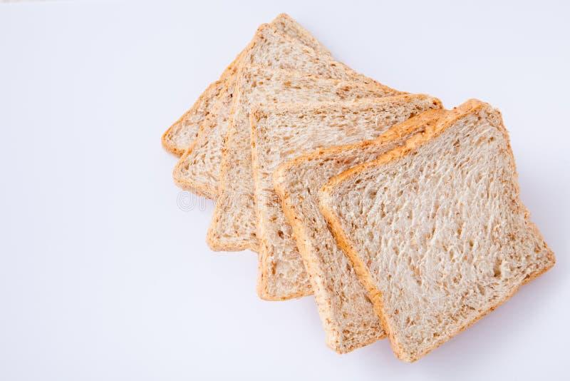 Brood van de plak het gehele tarwe royalty-vrije stock afbeelding