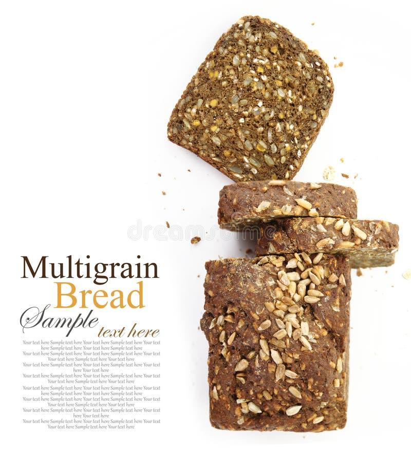 Brood van vers gesneden multigrain brood royalty-vrije stock foto