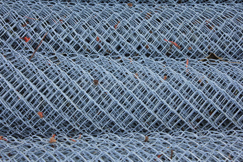 Broodje van aluminiumdraad royalty-vrije stock foto's