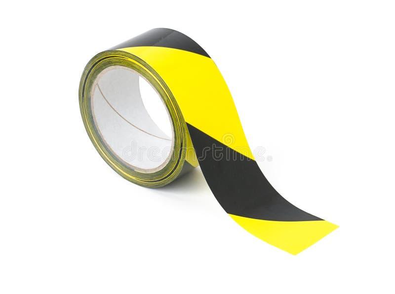 De band van de voorzichtigheid stock fotografie