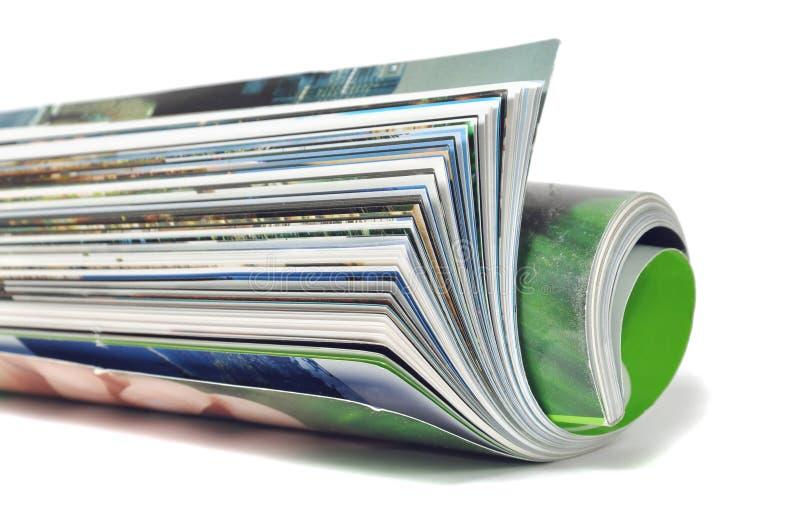 Broodje van tijdschrift stock fotografie