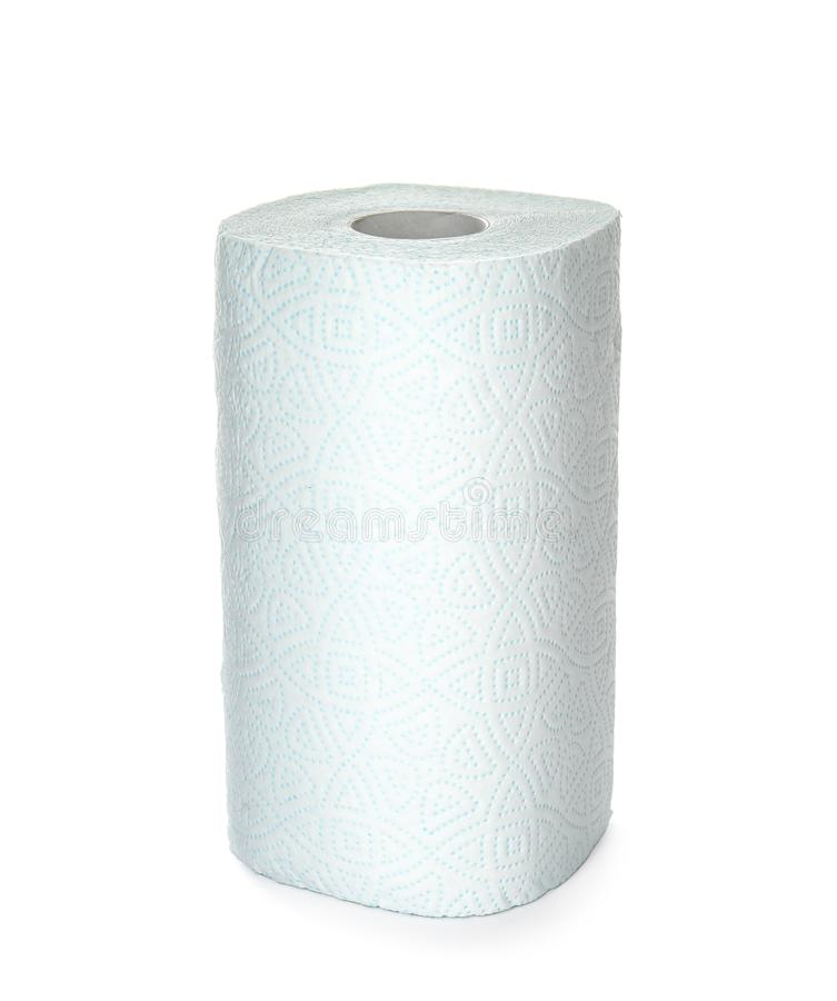 Broodje van toiletpapier royalty-vrije stock foto's