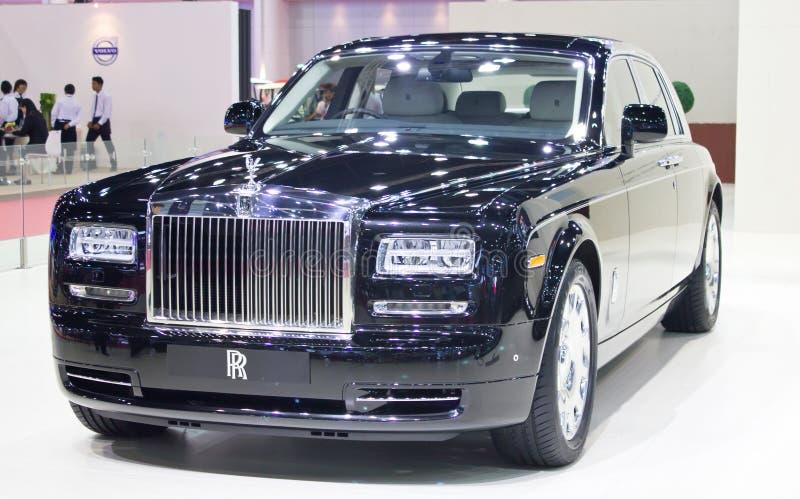 Broodjes Royce Car On Display. royalty-vrije stock fotografie