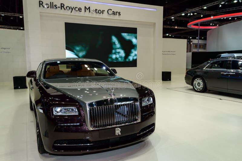 Broodjes Royce Phantom Standard Wheelbase royalty-vrije stock afbeelding