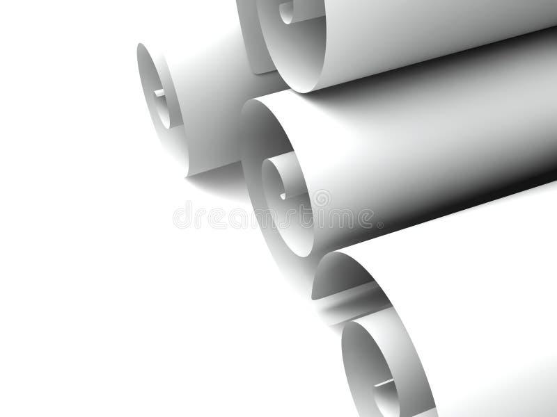 Broodjes van document vector illustratie