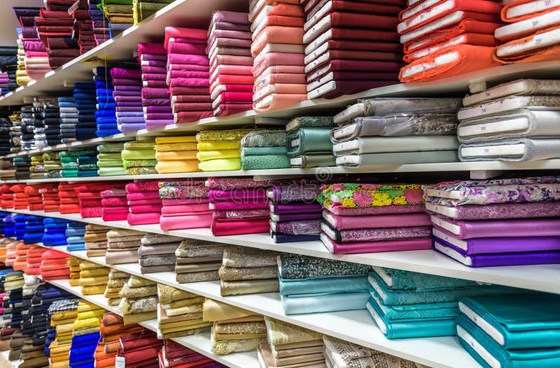 Broodjes van stof en textiel royalty-vrije stock foto