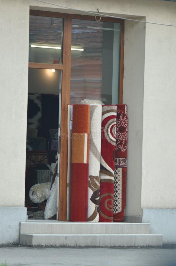 Broodjes van tapijten stock foto