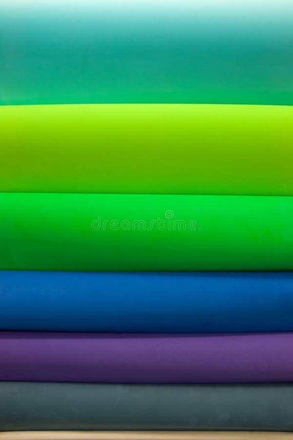 Broodjes van textiel stock fotografie