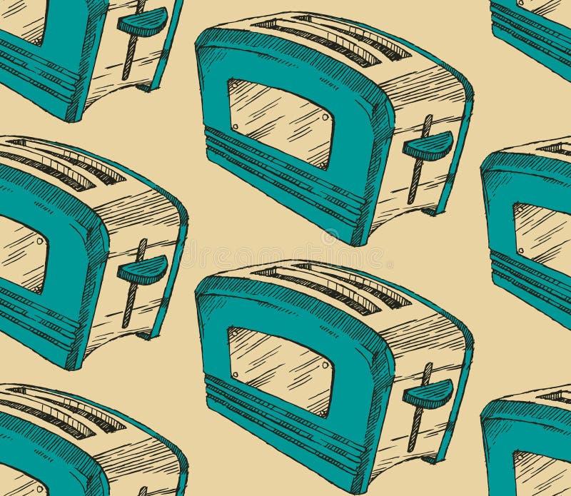 broodrooster stock illustratie