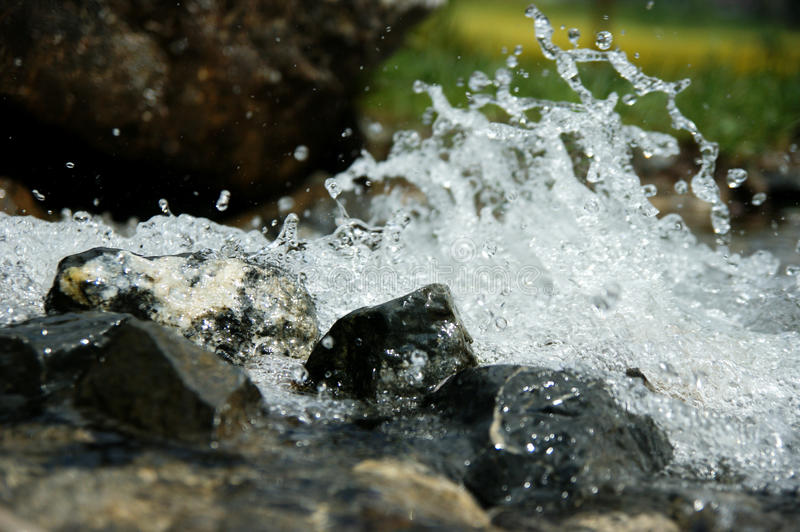 Download The brook stock image. Image of stream, flow, stone, sparkling - 25013995