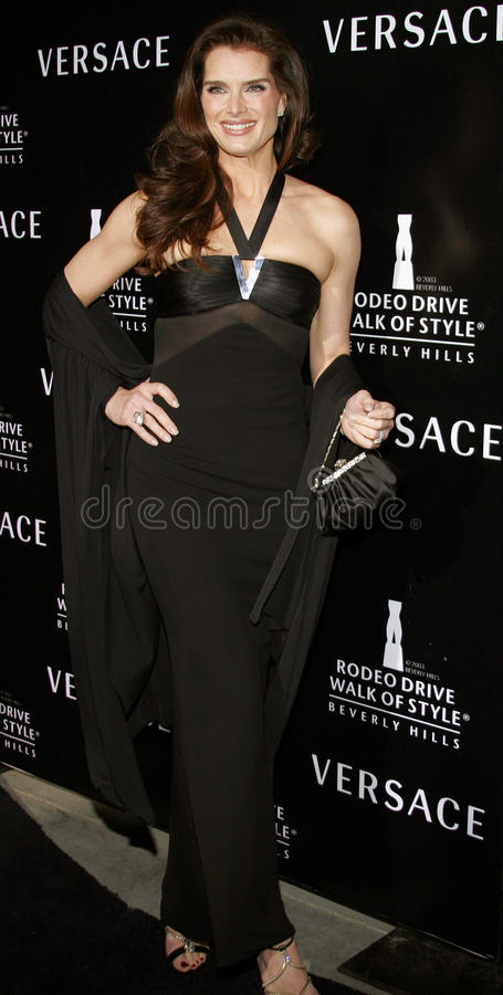 Brooke Shields stock fotografie