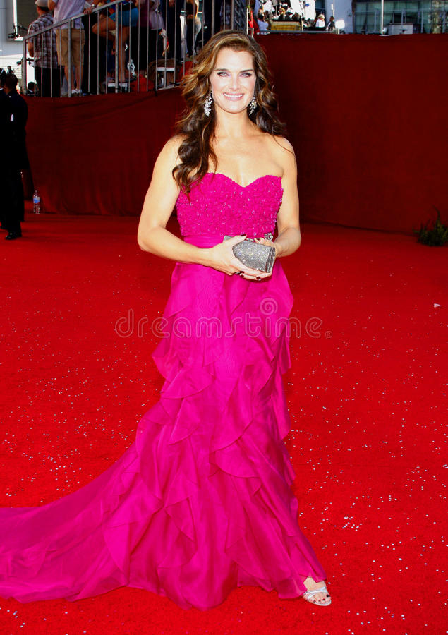 Brooke Shields royalty-vrije stock foto