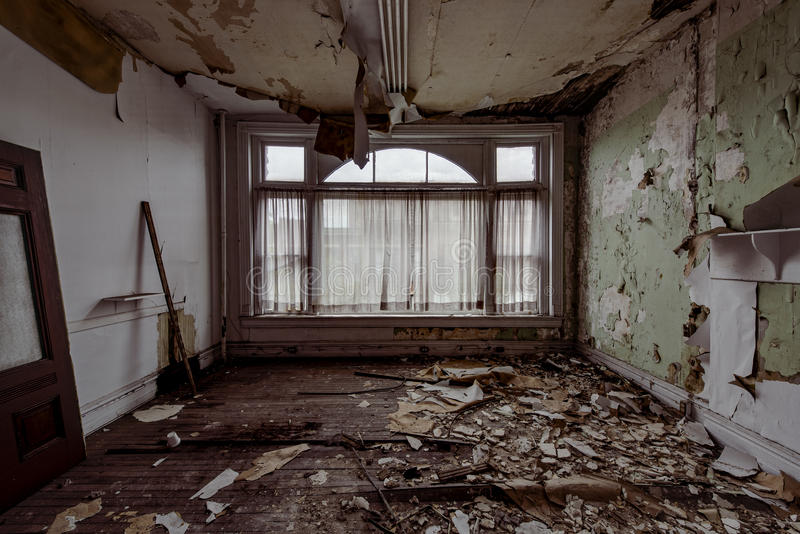 Brookes byggnad - östliga Liverpool, Ohio arkivbilder