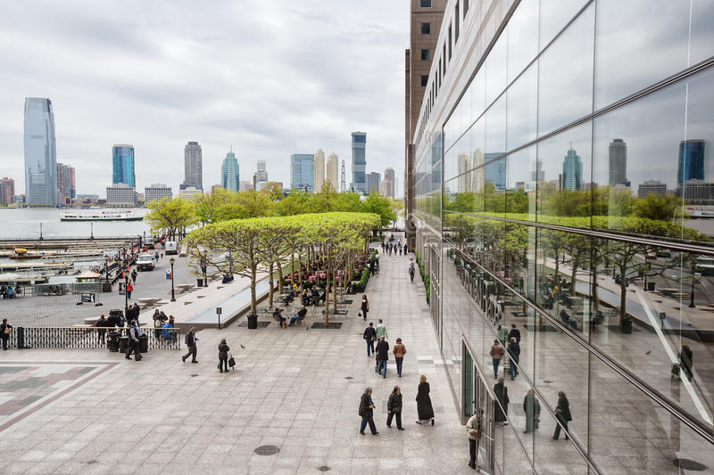 Brookfield Place in NYC royalty free stock images