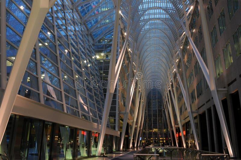 Brookfield Platz, Toronto lizenzfreies stockbild