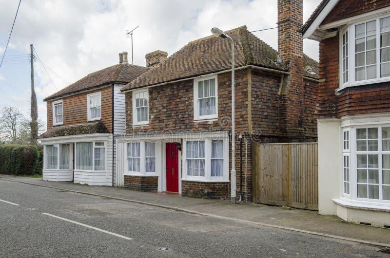 Brookland Village High Street, Kent royalty free stock image