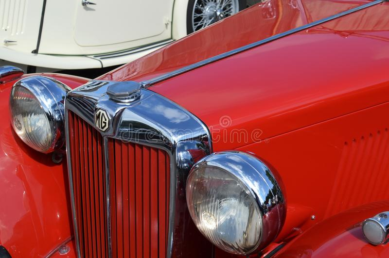 Brooklands Classic Car Show 2017. royalty free stock photos