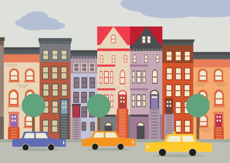 Brooklyn illustrazione vettoriale