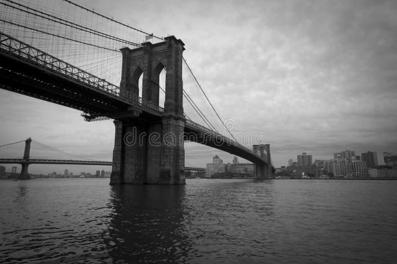 Brooklyn-Brücke lizenzfreie stockfotos