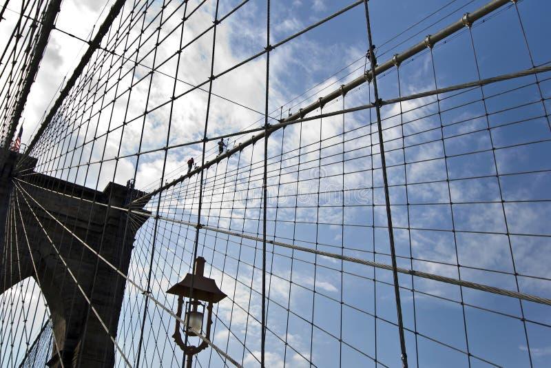 Brooklyn-Brücke, New York stockfoto