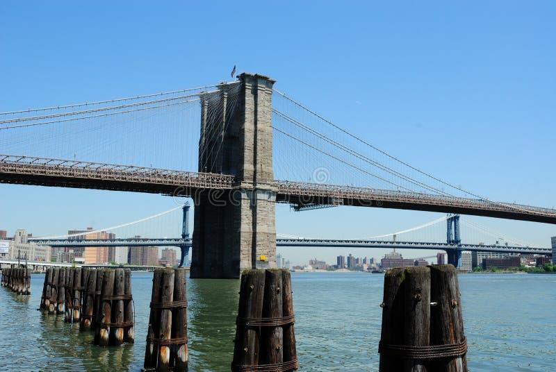 brooklyn bridżowy dzień zdjęcia royalty free