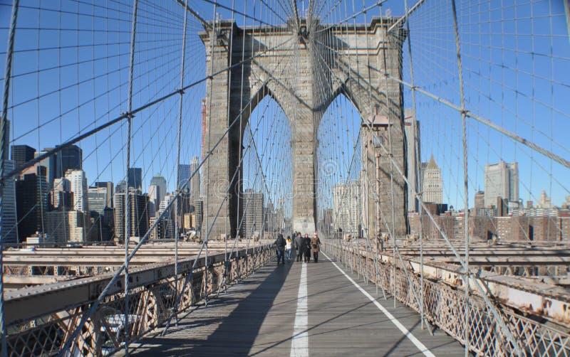 Download Brooklyn Bridge stock image. Image of bridge, outdoors - 12528055