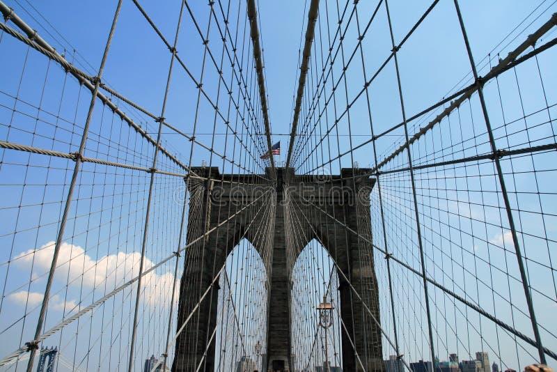 Download Brooklyn bridge stock photo. Image of detail, america - 16231524