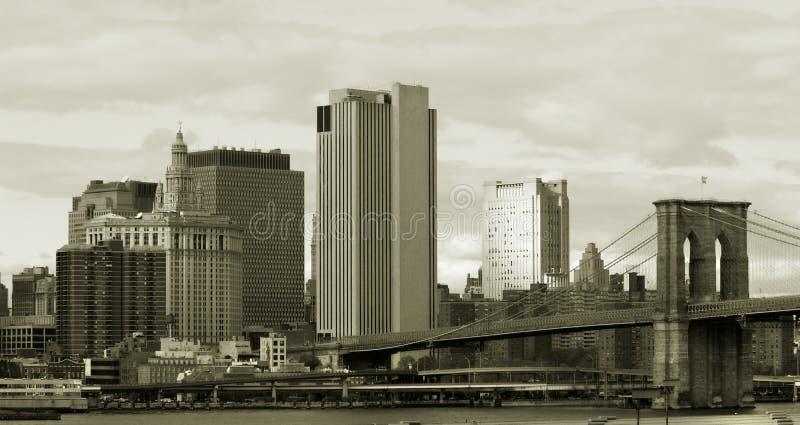 Download Brooklyn bridge stock photo. Image of finance, line, street - 1682160