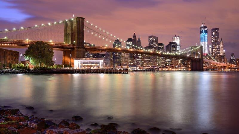 Download Brooklyn Bridge stock photo. Image of cityscape, water - 26624752