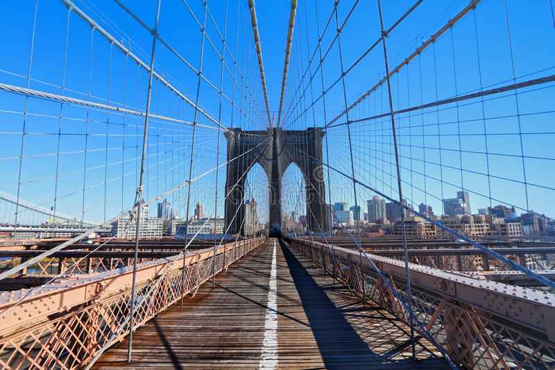 Brooklyn Bridge New York NYC royalty free stock images