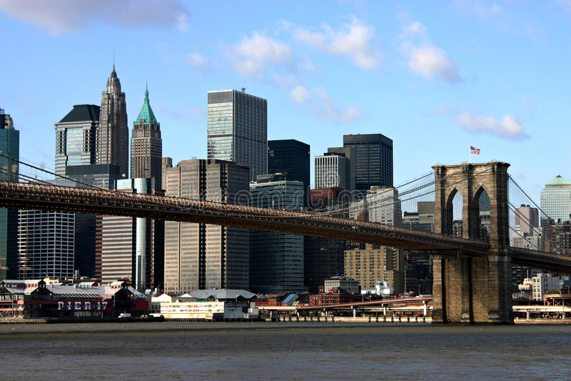 Download Brooklyn Bridge stock photo. Image of bridge, brooklyn, seaport - 33786