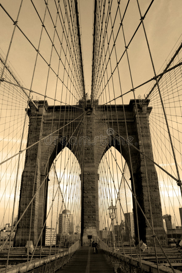 Download Brooklyn Bridge Stock Image - Image: 931931